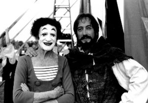 Marceau and Robin Hood at Smirkus